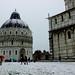 Nevicata a Pisa 2018