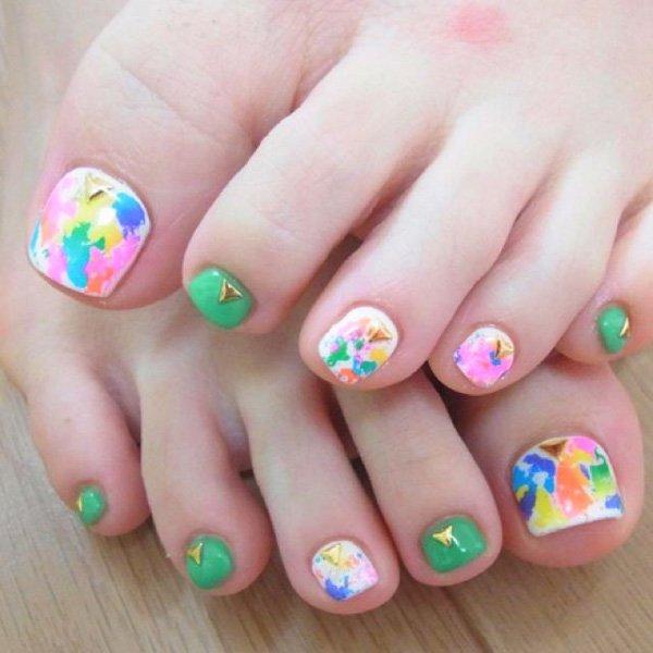 Lovely toeNail Designs for summer