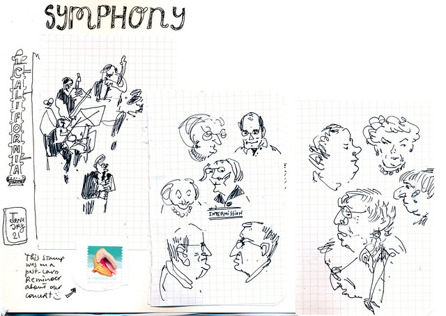 Sketchbook #111: Drawing During Intermission