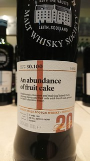 SMWS 30.100 - An abundance of fruit cake