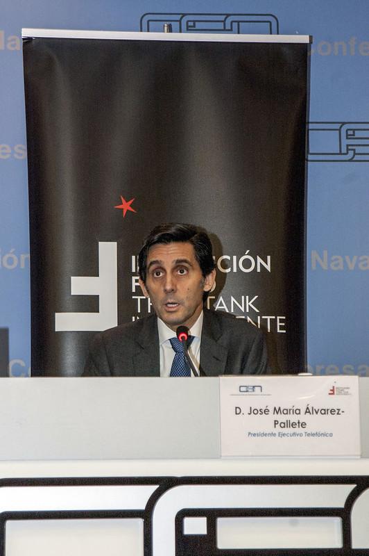 15º Aniversario Institución Futuro con José María Álvarez-Pallete, presidente ejecutivo de Telefónica