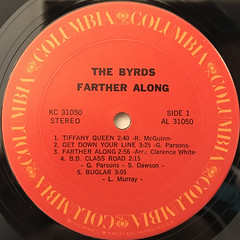 THE BYRDS:FARTHER ALONG(LABEL SIDE-A)