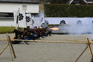岩国藩鉄砲隊