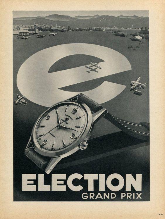collection - Un autre chrono vintage arrive dans ma collection , l'Election oversize  40555983611_85979a40de_b