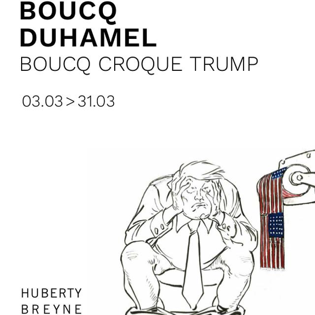 Francois Boucq : Boucq croque Trump - H&B Gallery Paris