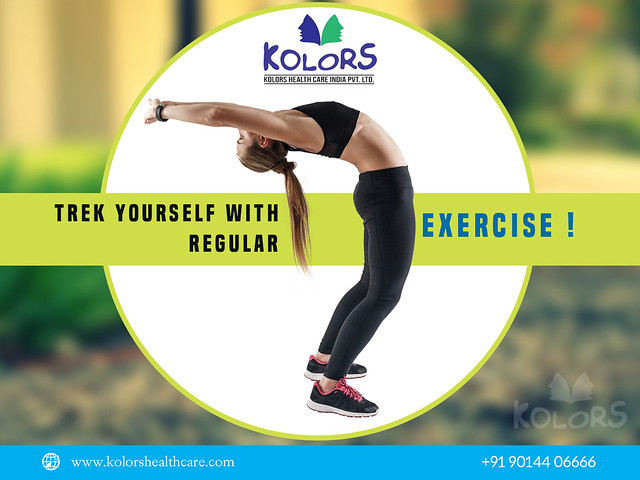 Trek Yourself with Regular Exercise!