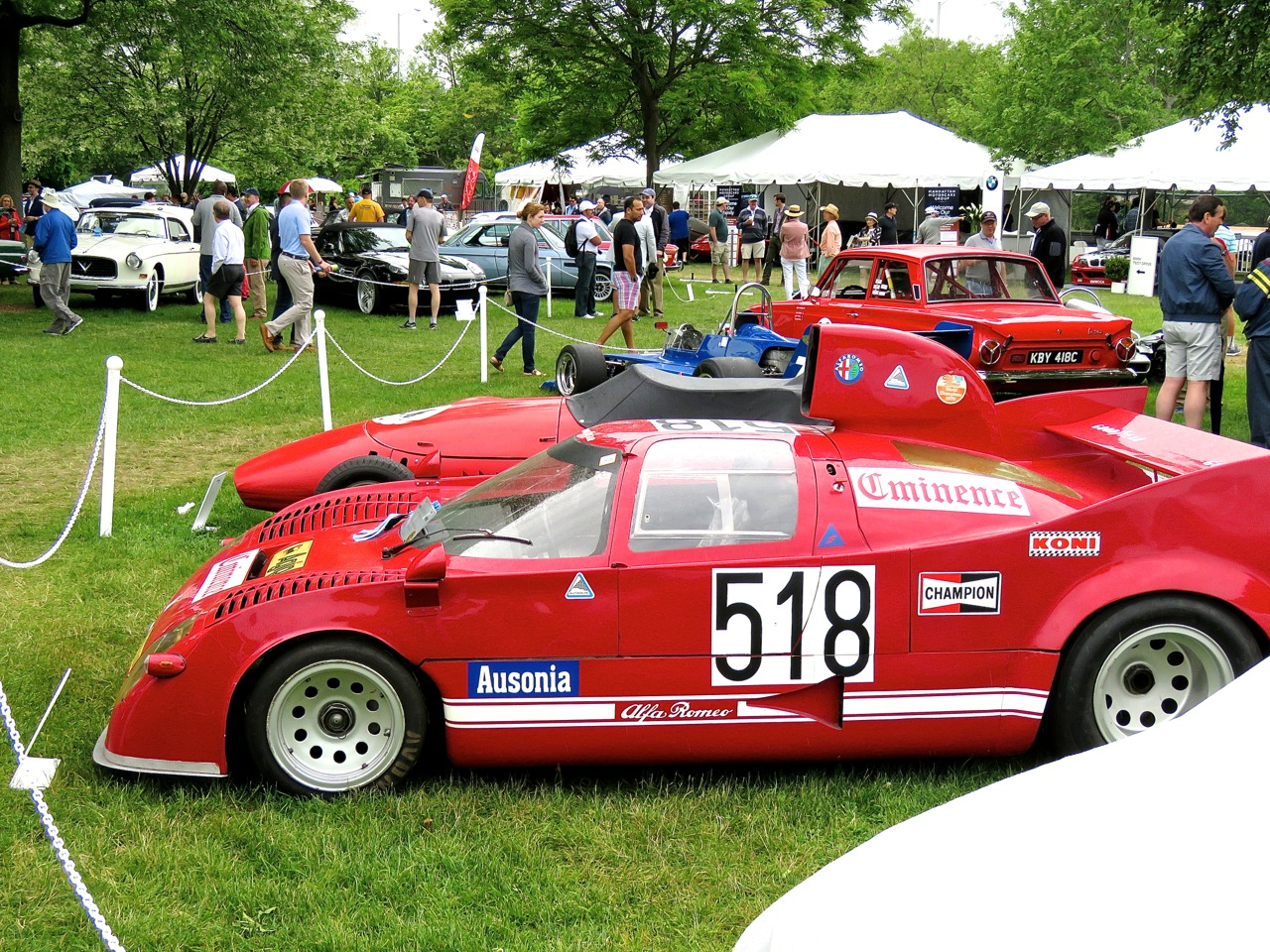 Alfa Romeo Tipo 33 Coupe Nastasi Racing 5