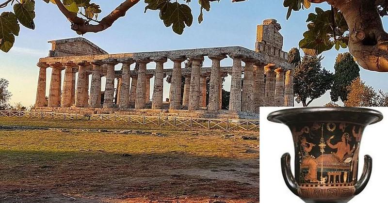 Vaso trafugato a Paestum