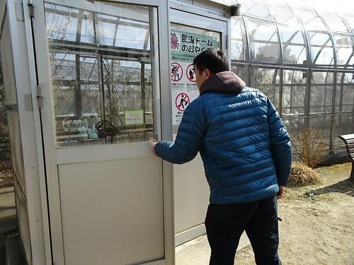 足立生物園の昆虫ドーム
