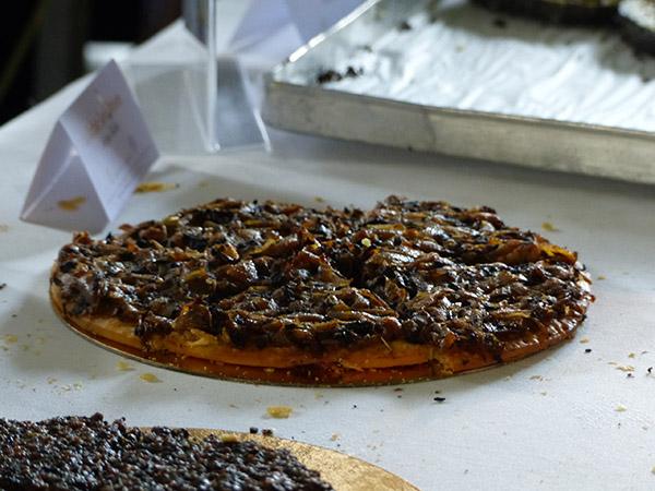 pissaladière à la truffe