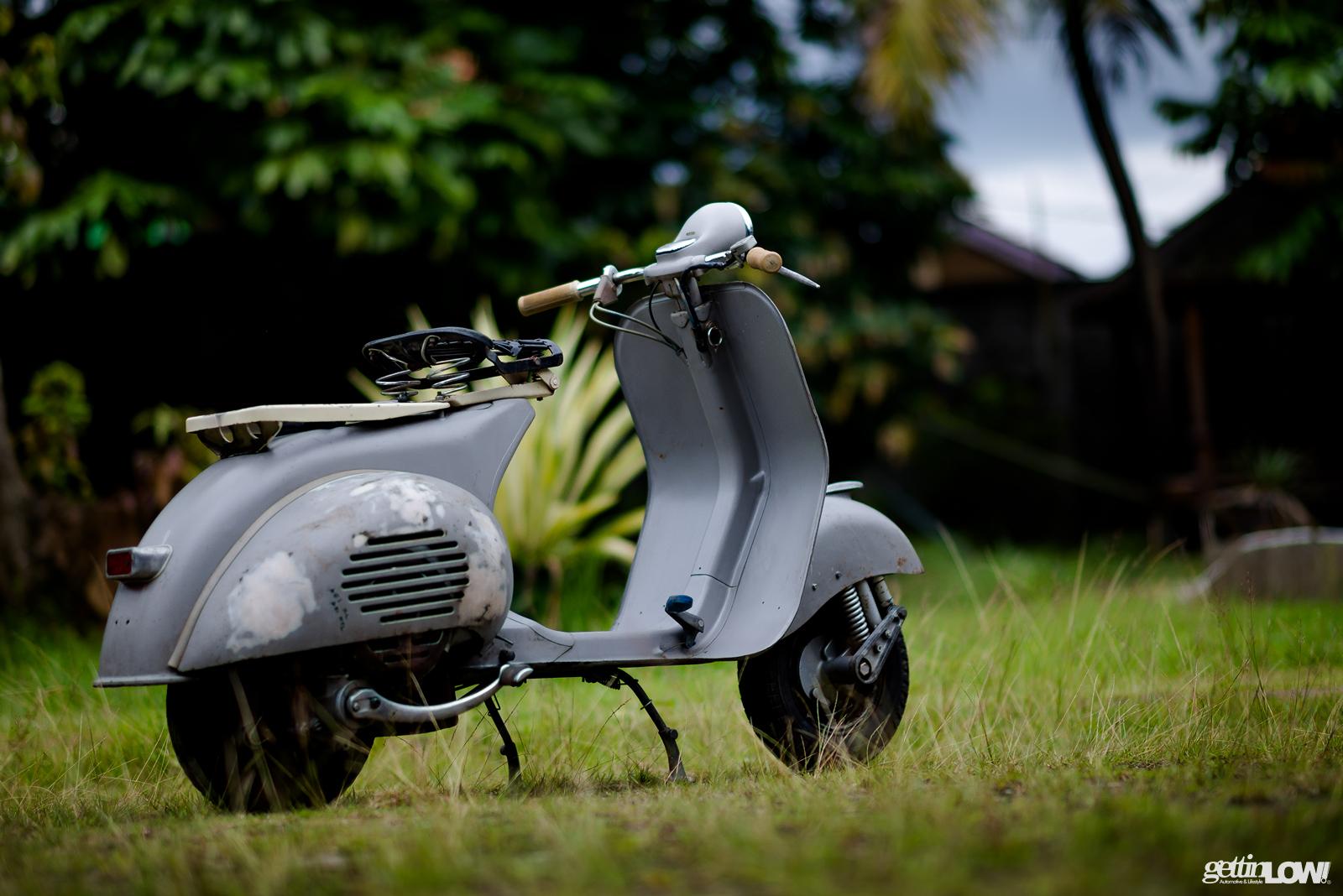 Bimantoro Wiyono's Patina 1950 Piaggio Vespa VL1
