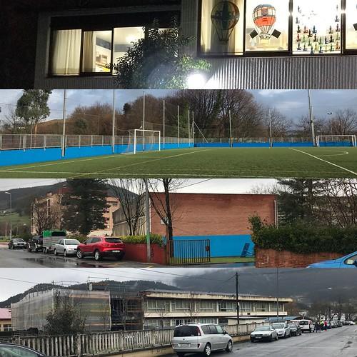 Visitados cuatro centros educativos de Bizkaia en 6 horas