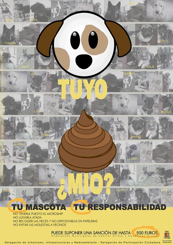 Cartel Campaña Sobre Civismo en Torno a las Mascotas definitivo