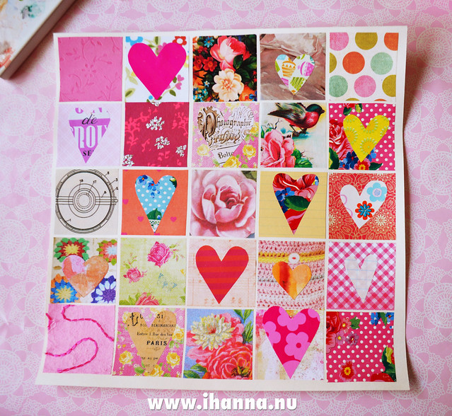 Share the LOVE heart print