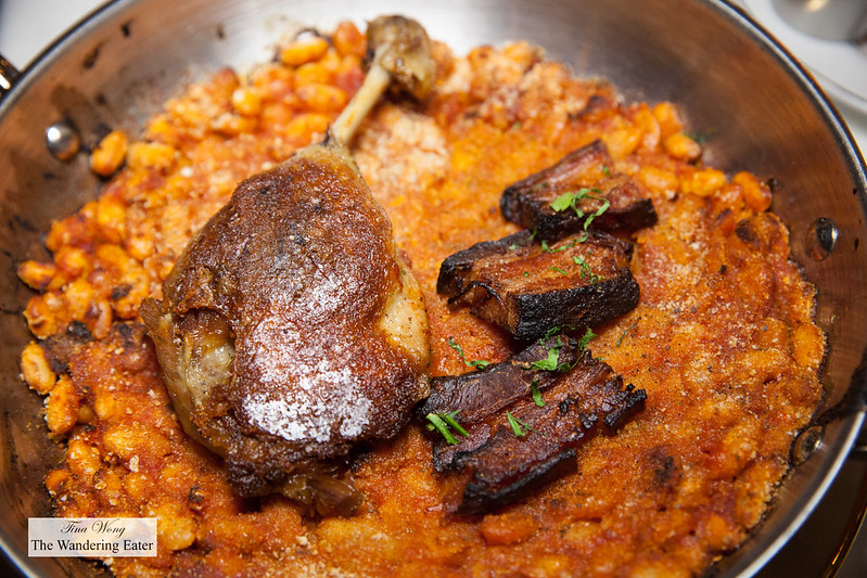 Cassoulet Maison - Duck confit, pork belly, sausage, white beans