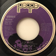 FRED WESLEY & THE JB'S:BACK STABBERS(LABEL SIDE-B)