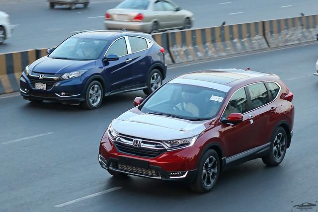 Honda CR-V and Honda Vezel, Bangladesh.