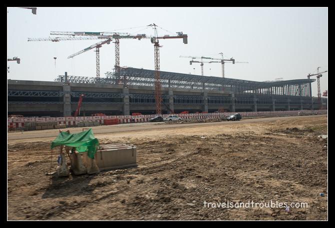 Het nieuwe Bangkok Trein station