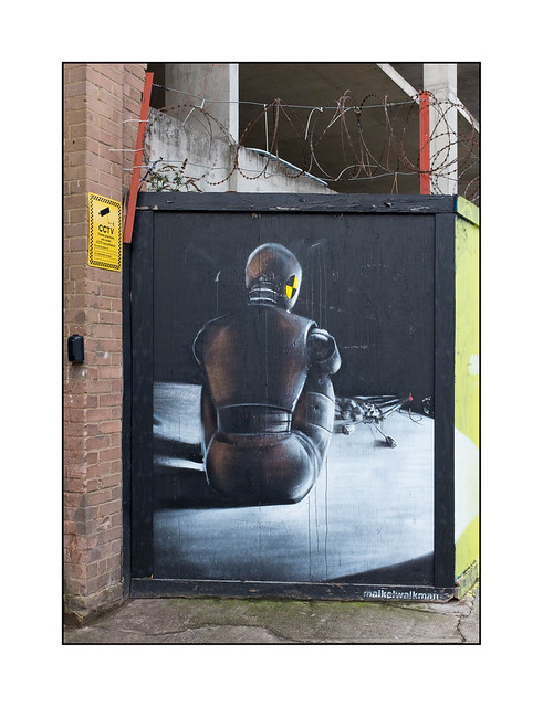 Street Art (Maikelwalkman), East London, England.