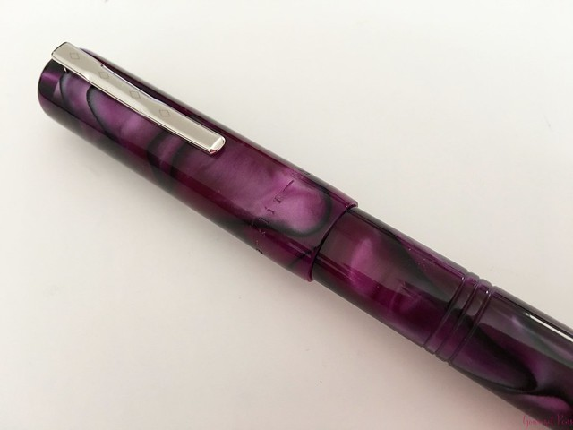 Review Franklin-Christoph Model 31 Omnis Purpurae Fountain Pen 14kt Gold Nib @1901FC 15