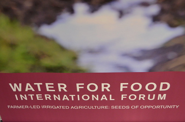 2018 Water for Food Forum