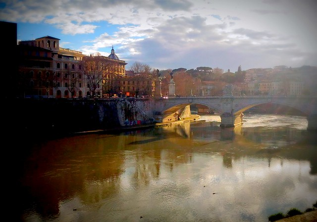 Roma -Splendida vista sul Tevere