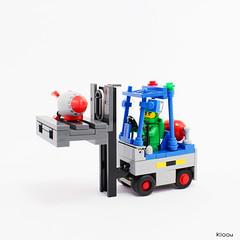 Gas Forklift
