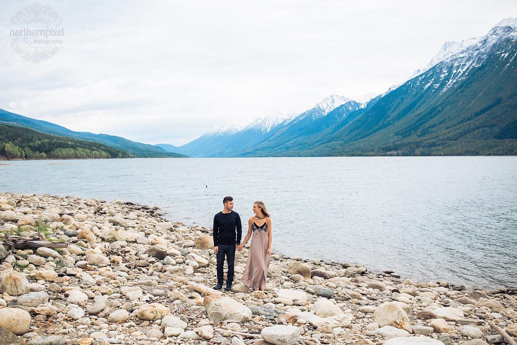 Valemount British Columbia, Kinbasket Lake Engagement Session