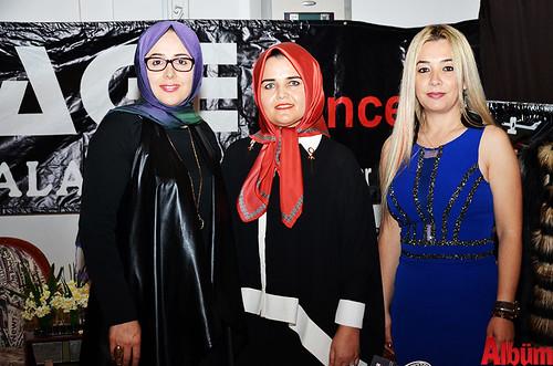 Garage Concept markasının temsilcileri Mine Atalay, Nimet Deveci, Selda Işıncınas
