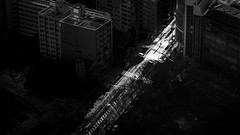 The last light - Tokyo, Japan - Black and white photography