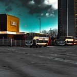 This is my attempt to try and take a photograph and edit it to look like it is from the popular computer game Grand Theft Auto. This picture was taken at Preston bus station during the day. Please give me some feedback on your thoughts