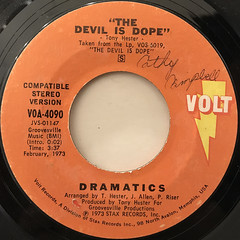 DRAMATICS:THE DEVIL IS DOPE(LABEL SIDE-B)
