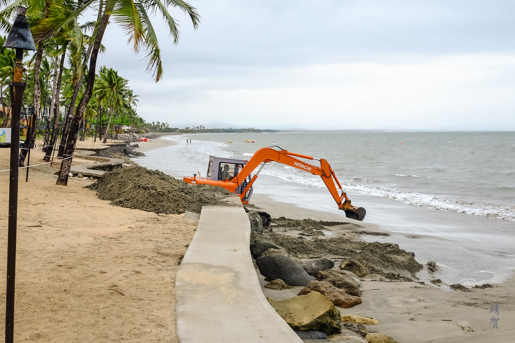 Beach reconstruction