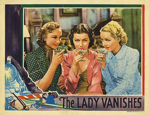 The Lady Vanishes - 1938 - lobbycard 1