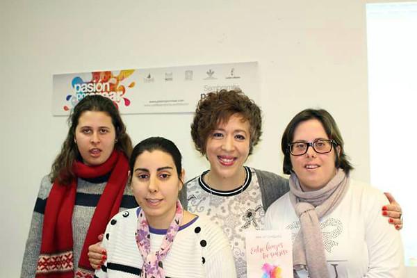 Visita Ana María Chiquito Club Lectura CECAP (6 de febrero de 2018)
