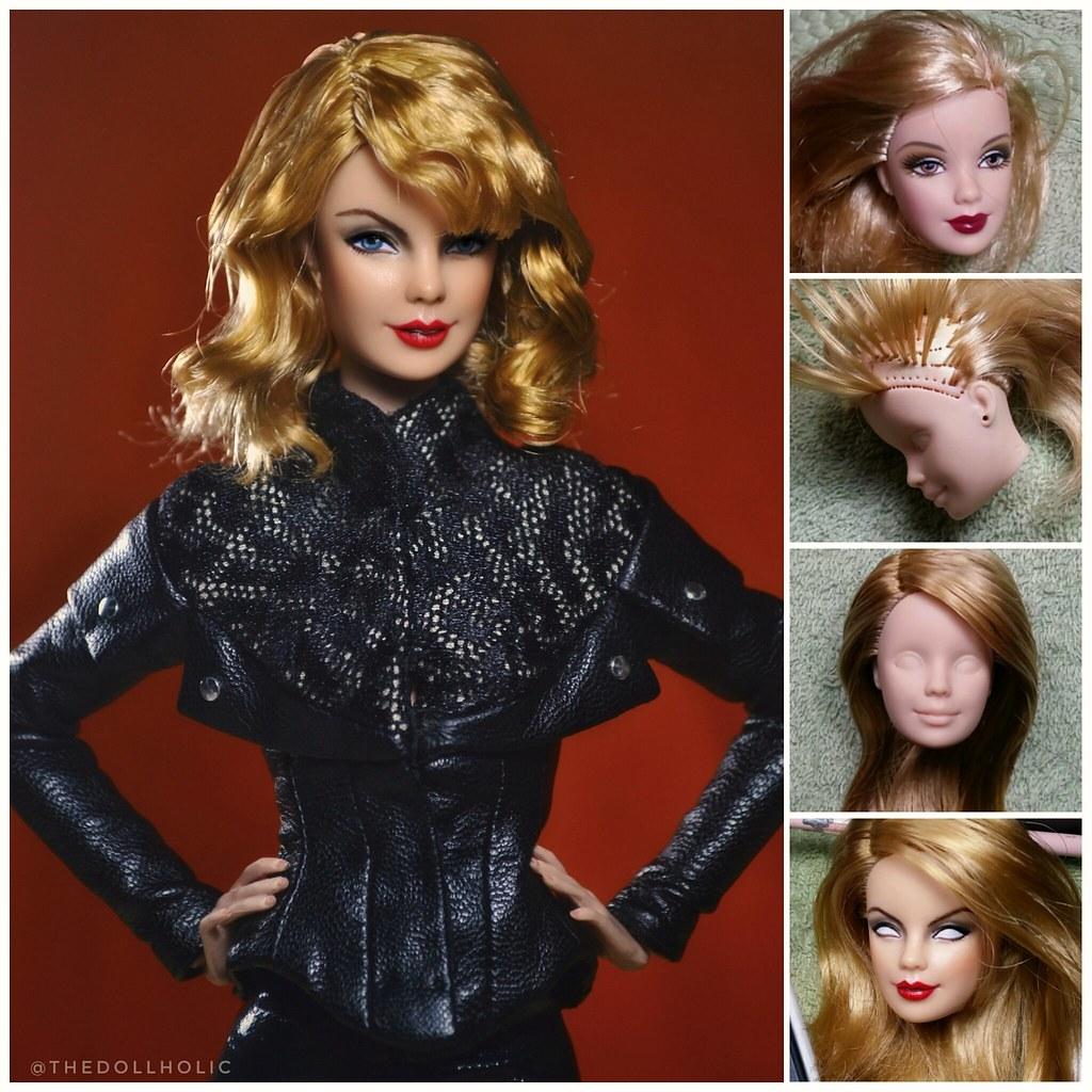 Ooak Taylor Swift Barbie Thedollholic Flickr