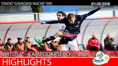 Virtus V.- Campodarsego del 04-02-18
