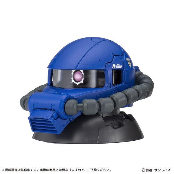 吉翁軍王牌機體再臨!《機動戰士鋼彈》EXCEED MODEL ZAKU HEAD 4 薩克頭像 第四彈