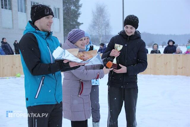 Ледовая площадка в Копнино
