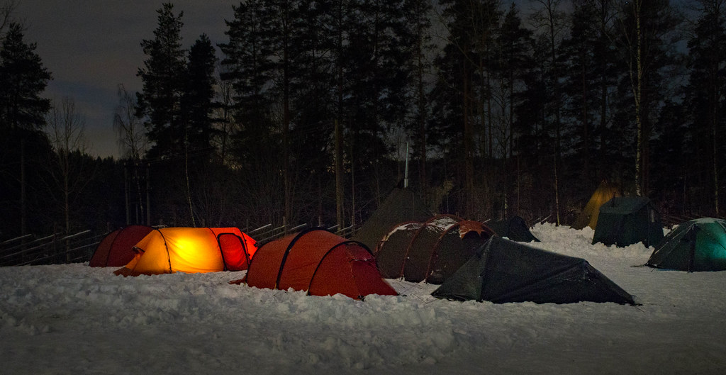Winter camping in Nuuksio National Park; Easy-Peasy or Hell on Earth?