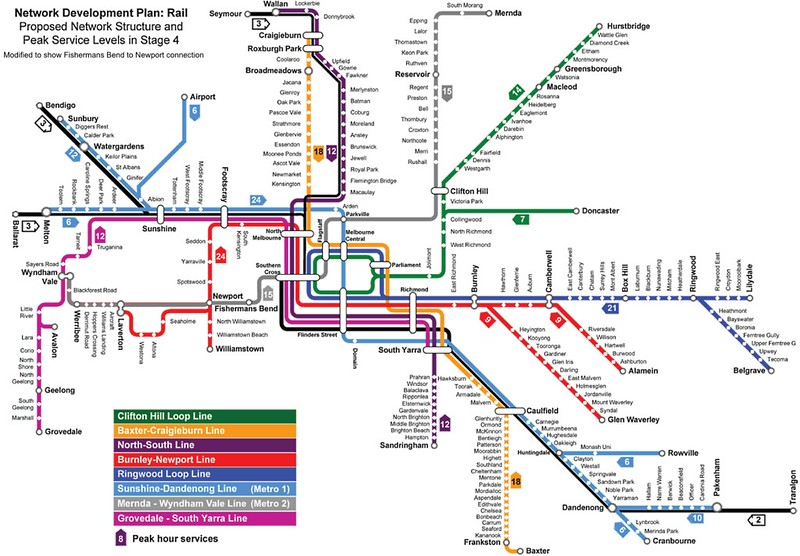 PTV map (NDP stage 4) modified to show Metro 2