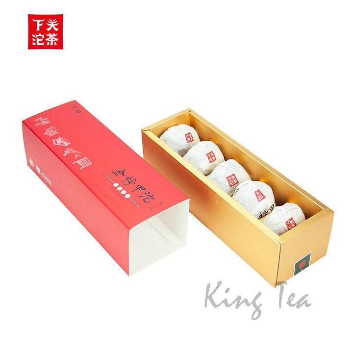 2015 XiaGuan JinBangJiaJi Tuo 100g *5= 500g   YunNan        Puerh Raw Tea Sheng Cha