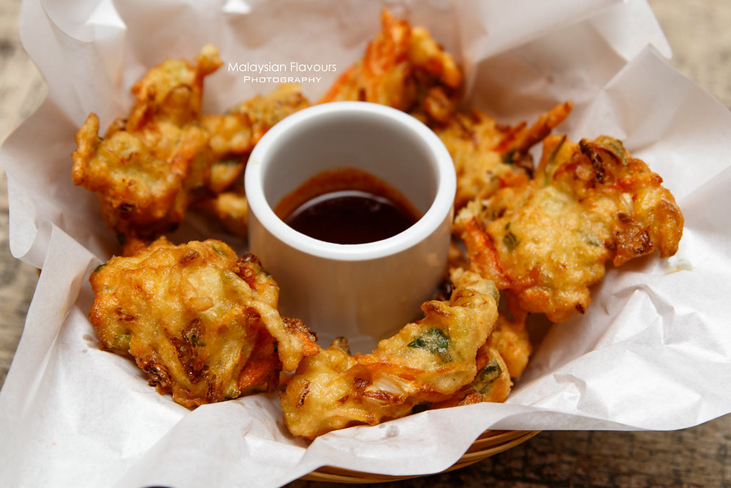 Don's Warong cucur udang special