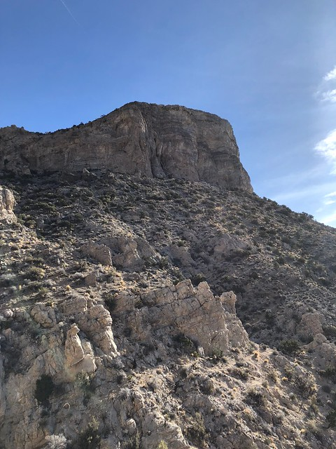 Las Vegas - Turtle peak from the bottom