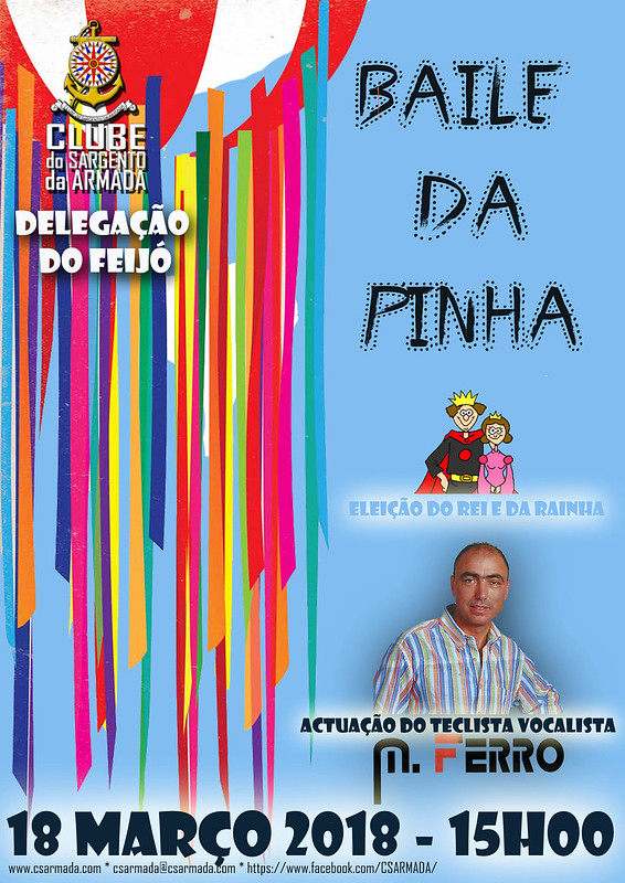 Cartaz Baile da Pinha