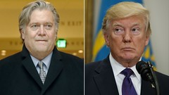 Trump accused of 'gagging' Steve Bannon via david3132