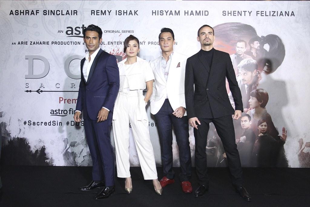 Tonggak Utama DOSA, Remy Ishak, Shenty Feliziana, Hisham Hamid dan Ashraf Sinclair