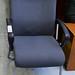 Grey fabric meeting chair E45