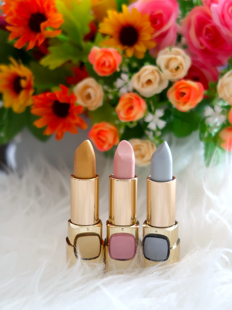L'Oreal Color Riche Metallic Lipsticks 1