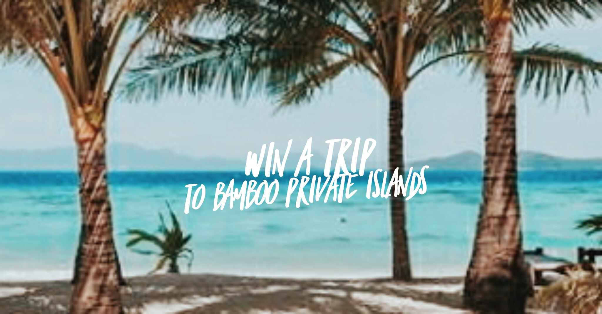 Win a Trip to Bamboo Private Islands for You and Your Friends: GetGo Members Exclusive
